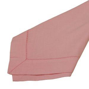 Pink Hemstitch Napkins