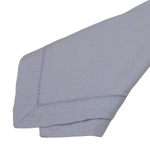 Powder Blue Hemstitch Napkins