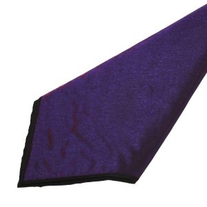 Purple Iridescent Satin Napkins