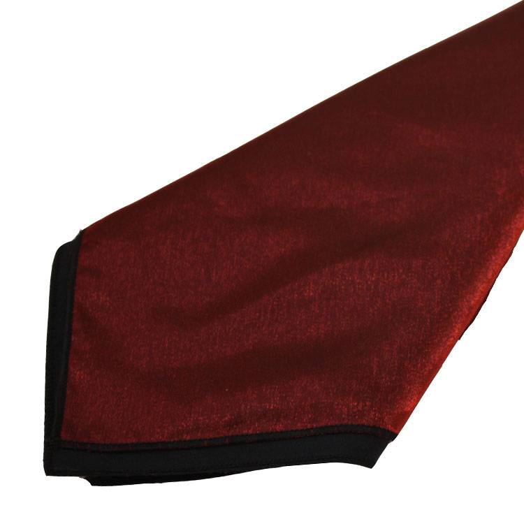 Red Iridescent Satin Napkins