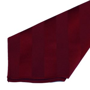 Burgundy Imperial Stripe Napkins