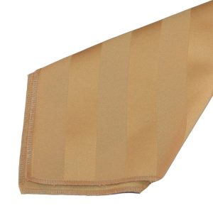 Gold Imperial Stripe Napkins