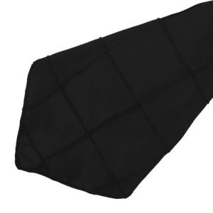 Black Pintuck Napkins