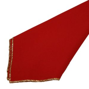 Red with Gold Trim Napkins