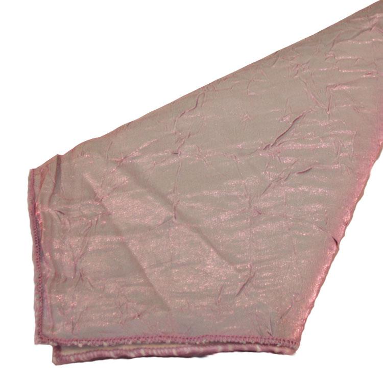 Aqua / Pink Crushed Shimmer Napkins