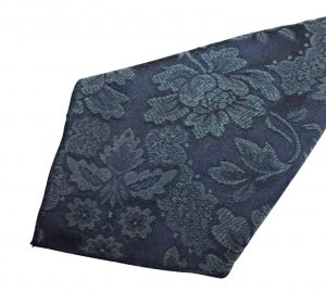 Navy Damask Napkin