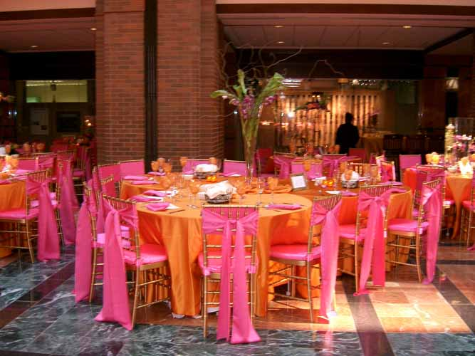 Wedding And Special Event Pumpkin Lamour For Rent Cloth
