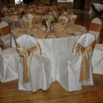 Taupe Lamour Chair Pad Cover