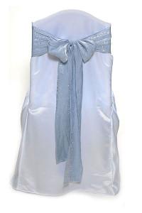 Porcelain Blue Crushed Shimmer Tie
