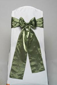 Kiwi Iridescent Satin Tie
