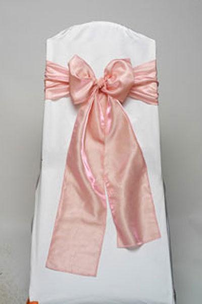 Pink Iridescent Taffeta Tie