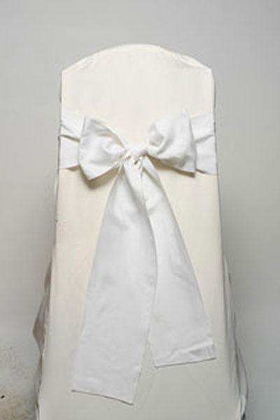 White Imperial Stripe Tie