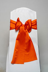 Orange Lamour Tie