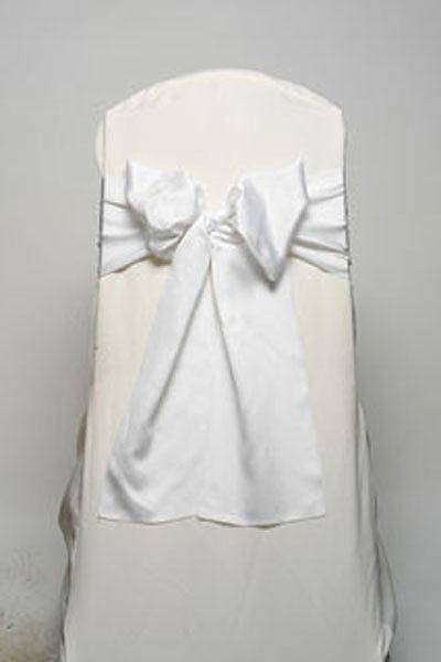 White Lamour Tie