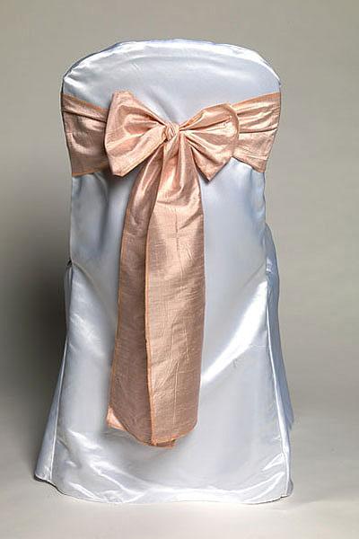 Light Pink Dupioni Silk Tie