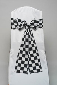 Racing Check Tie