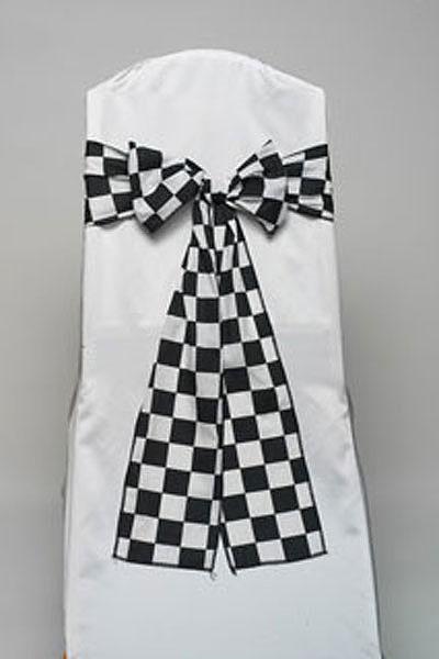 Racing Check Tie