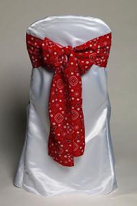 Red Bandana Tie