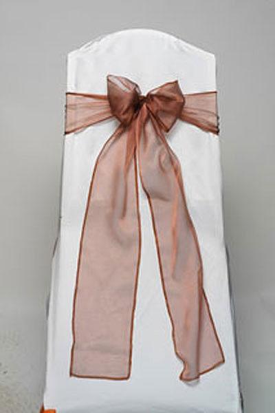 Copper Iridescent Sheer Tie