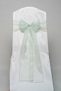 Mint Organdy Tie