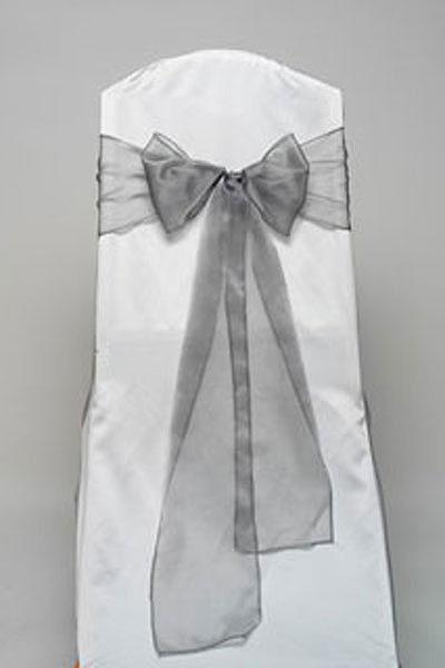 Pewter Iridescent Sheet Tie