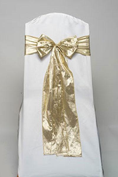 Gold Tissue Tie