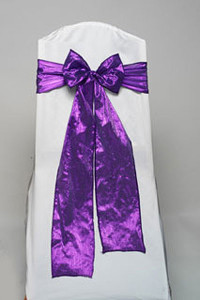Purple Tissue Tie