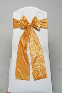 Mustard Velvet Tie