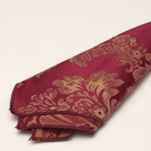 Wine & Gold Damask Napkin2