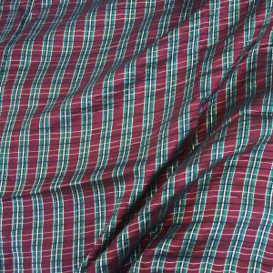 WinePlaidTaffeta