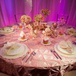 Pink Elastic Taffeta