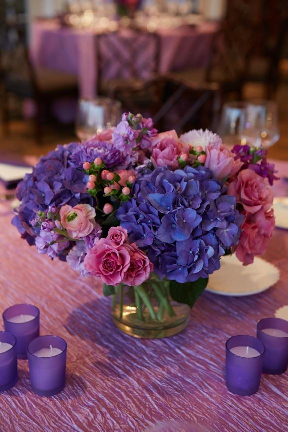 Lavender Crinkle Taffeta Table Linen Rental Tablecloth