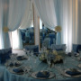 Periwinkle Lamour Chair Cover