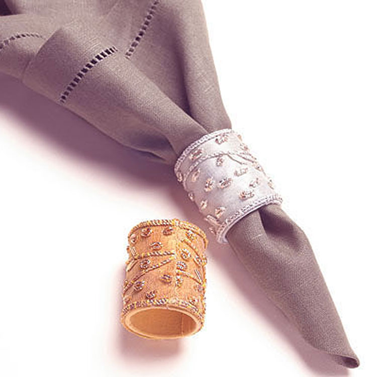 Princess Beaded Napkins Rings