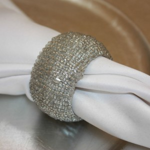 Silver Beaded Barrel