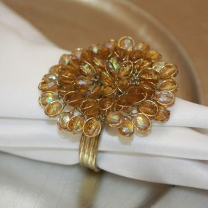 Golden Jeweled Blossom