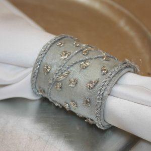 Silver Princess Beaded
