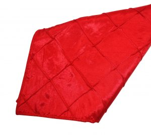 Red Pintuck Napkin