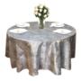 Silver Marble Metallic