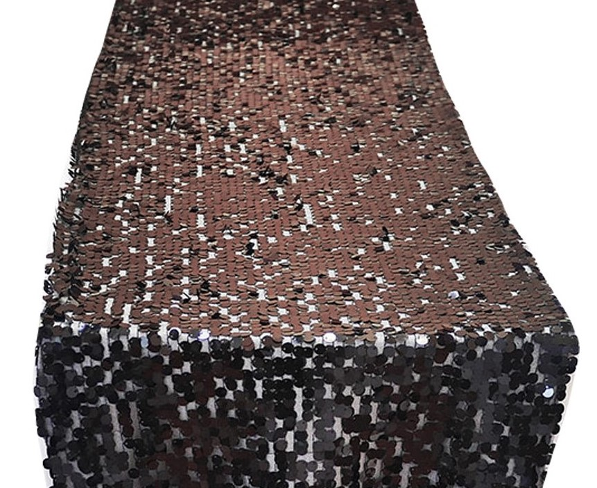 Black Dazzle Table Runner