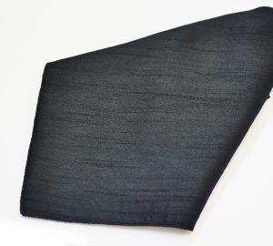 Black Poly Dupioni Napkin