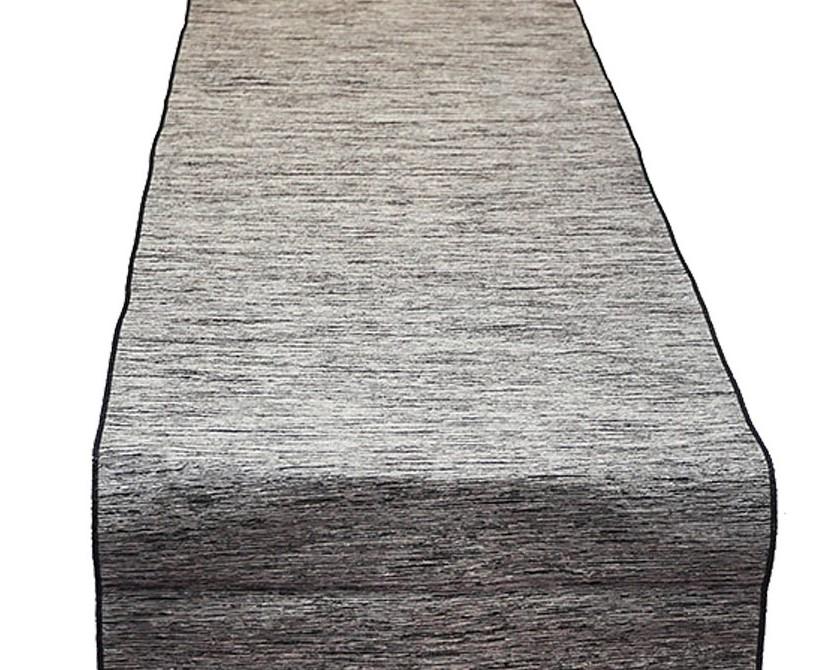 Black and White Bengalor Table Runner