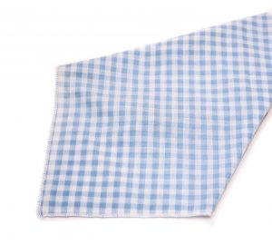 Light Blue Gingham Napkin