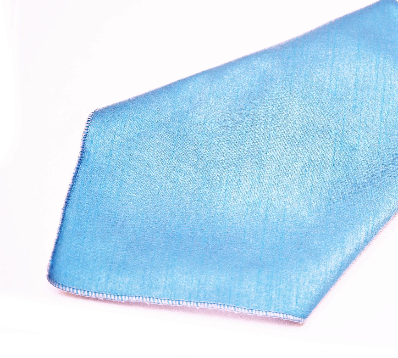 Light Blue Poly Dupioni Napkin