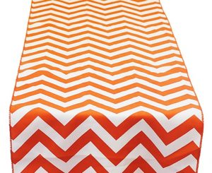 Mandarin Chevron Table Runner