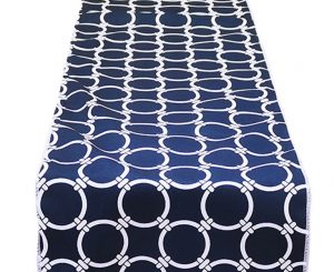 Navy Rings Runner
