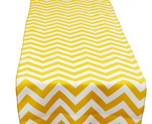 Sunbeam Chevron Table Runner