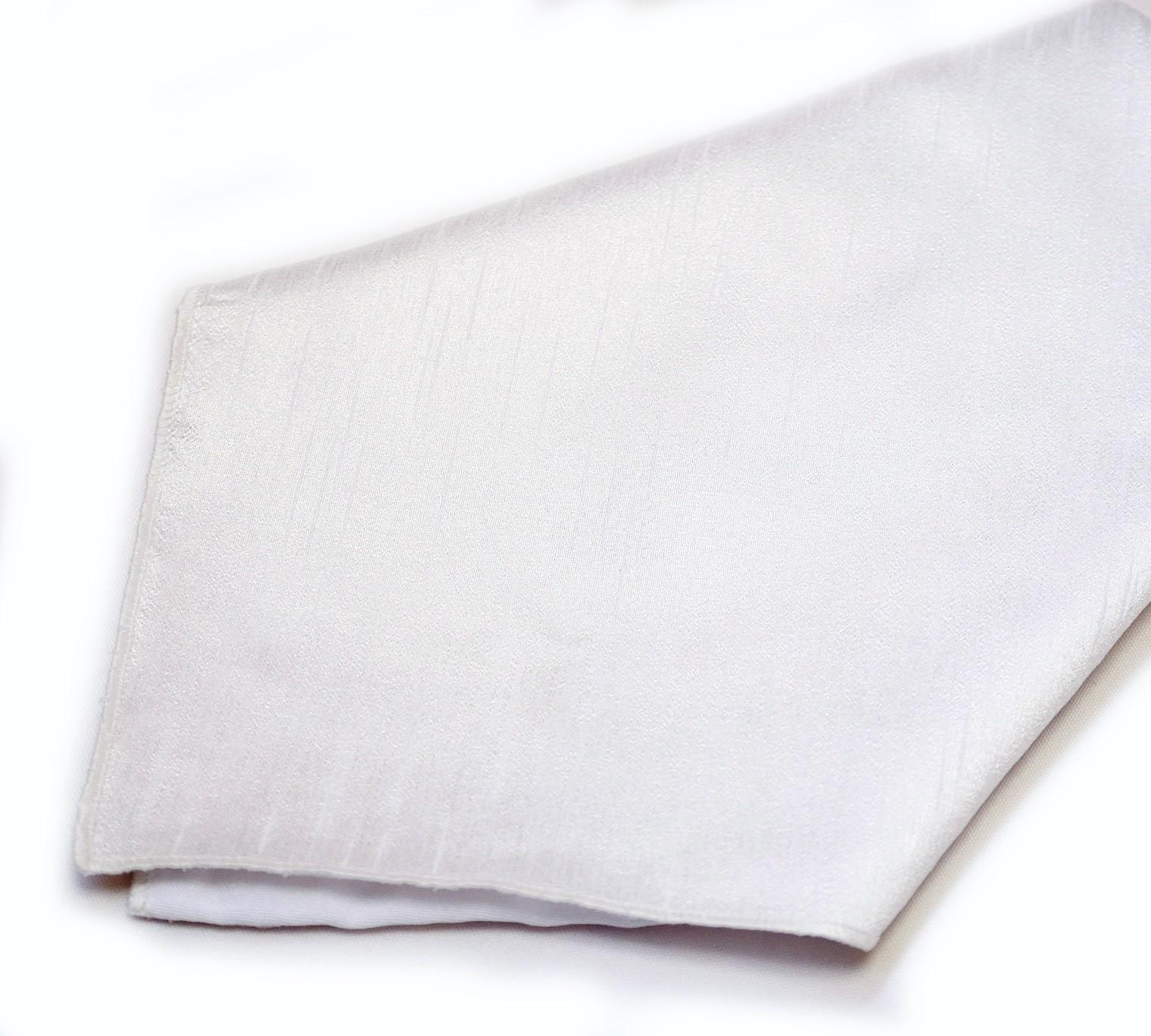 White Poly Dupioni Napkin