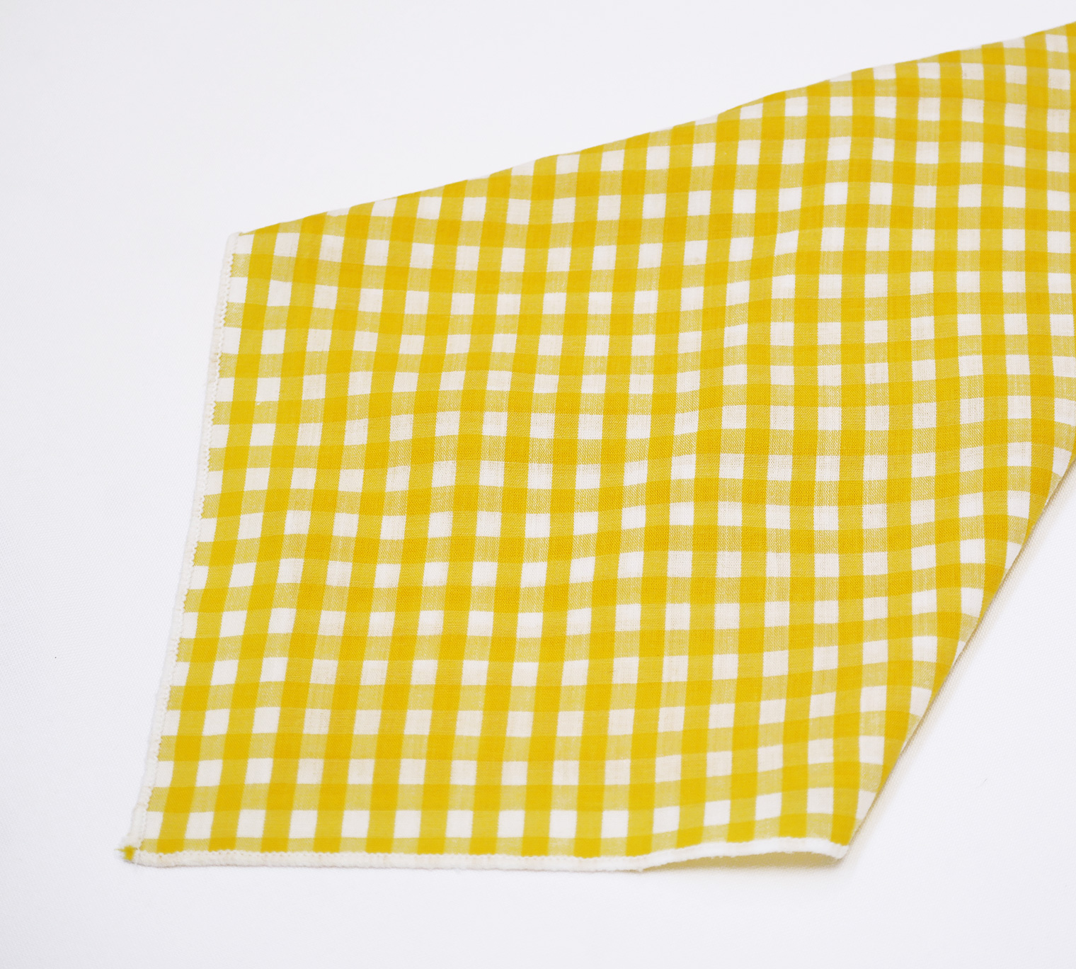 Yellow Gingham Napkin