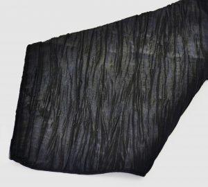 Black Crinkle Taffeta Napkin
